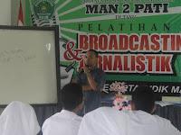 Siswa MAN 2 Pati Ikuti Pelatihan Jurnalistik