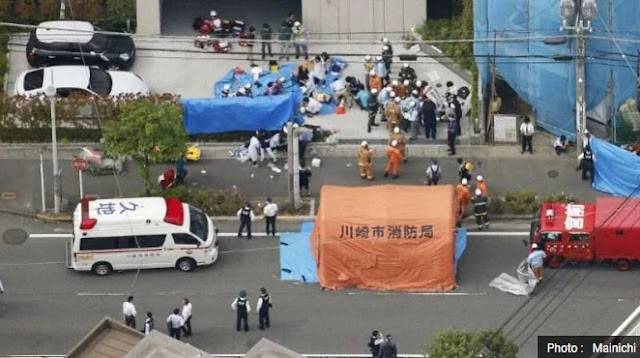 Penusukan Massal di Jepang, Tewaskan 2 Orang