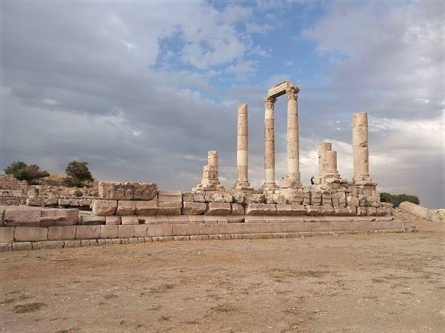 Tempio di Ercole nella Cittadella di Amman