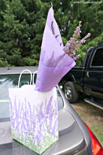 Mis Compras en Laromay Lavender Farm en Hollis, New Hampshire