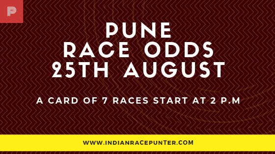 Pune Race Odds 25 August