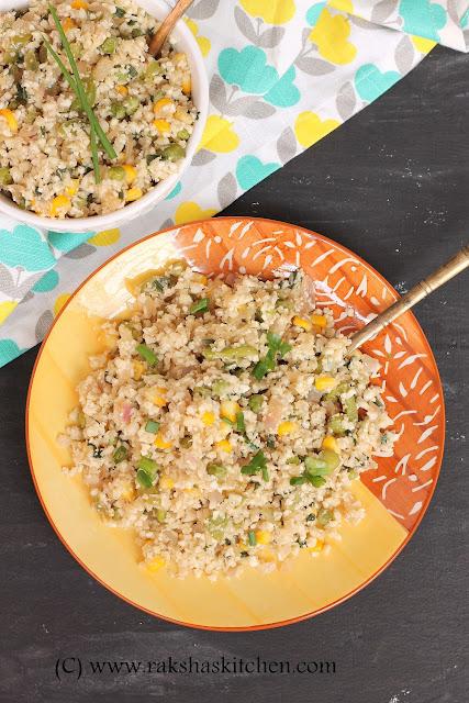 cauliflower rice paleo