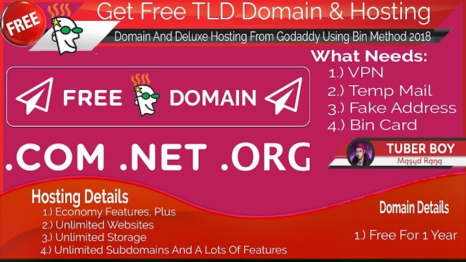 2-years Premium Domain Method (.com, .in, etc)