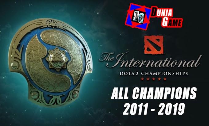 Daftar Pemenang The International Dota 2 Championship 2011 - 2019