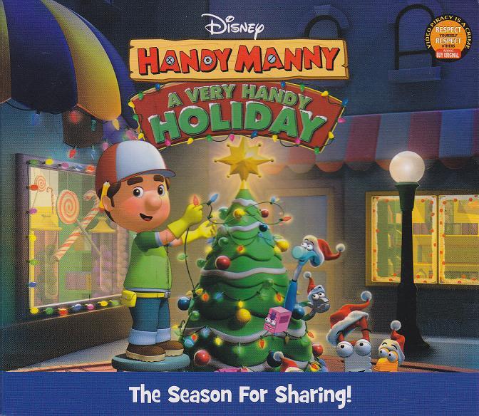 Handy Manny A Very Handy Holiday Dvd Anak Cerdas