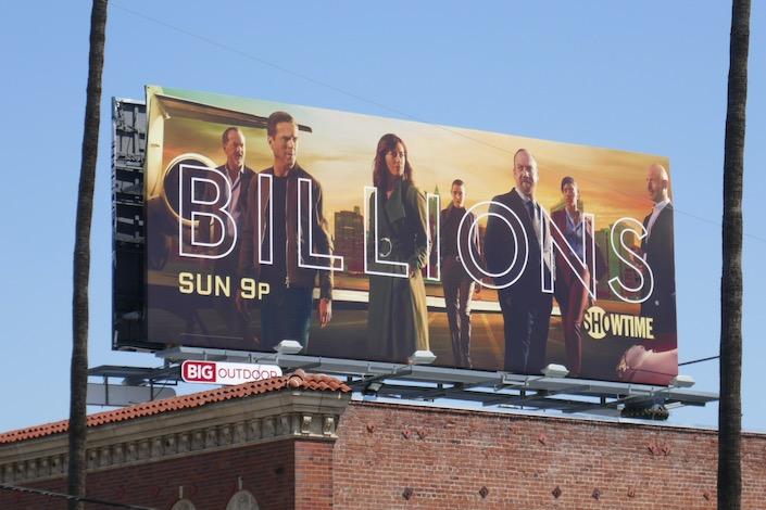 Billions season 5 billboard