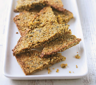carrot and cumin crispbreads recipe