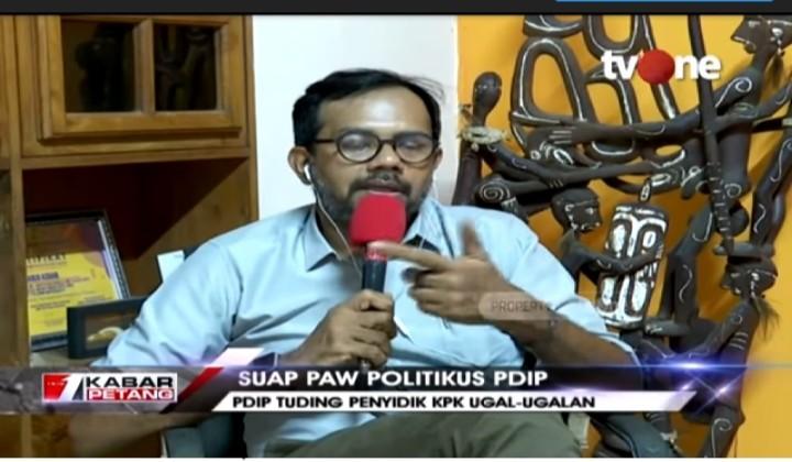 Jawab Seperti Ini Saat Ditanya UU PAW, Politisi PDIP Tidak Nyambung?