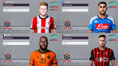 PES 2020 Facepack 5 by Dzayer Pes