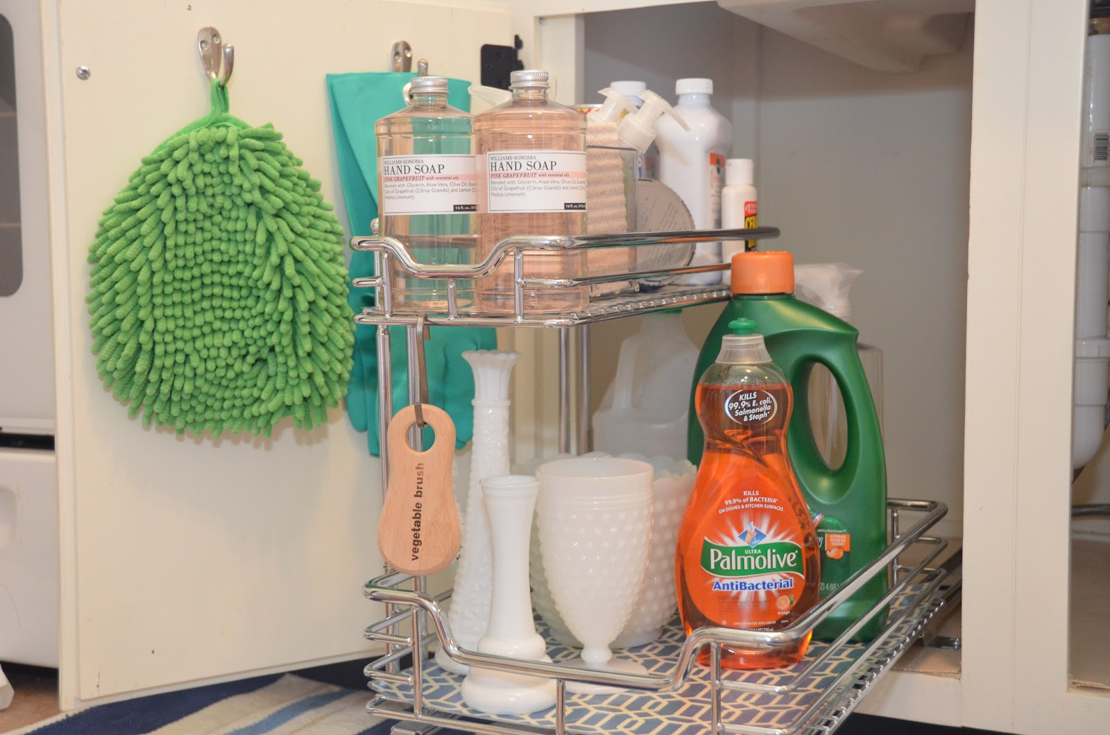 Sink Shelves Bathroom Diy Hair Care Storage Ikea Bathroom