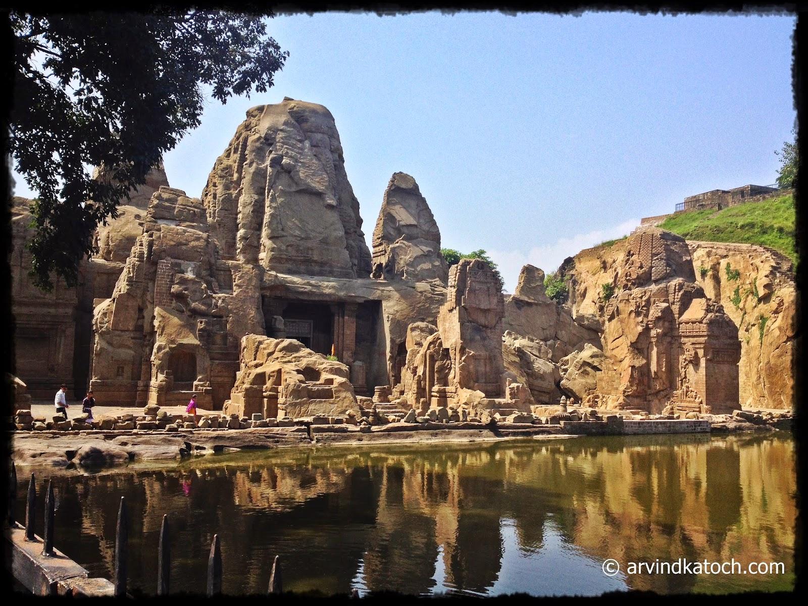 Masroor Rock Temple, Rock Temple, Masroor, Himachal