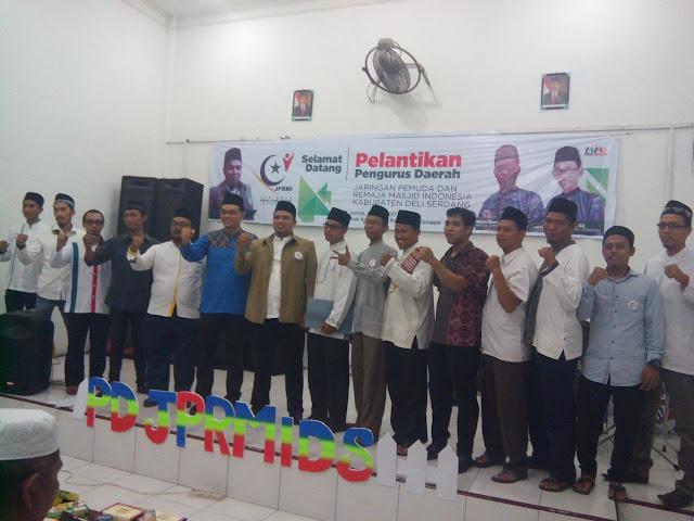 Baru dilantik, Ketua JPRMI Deli Serdang Serukan Pemuda Penuhi Masjid