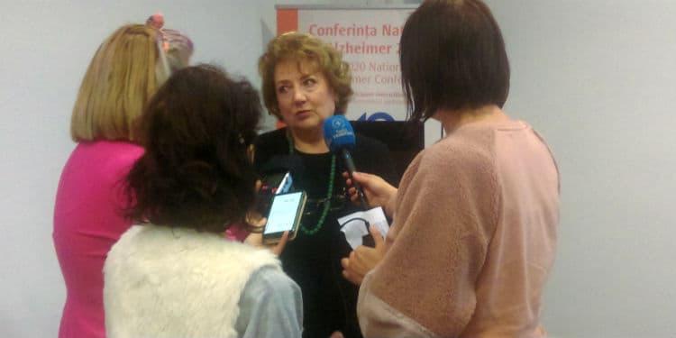 Cătălina Tudose Conferinta Nationala Alzheimer 2020