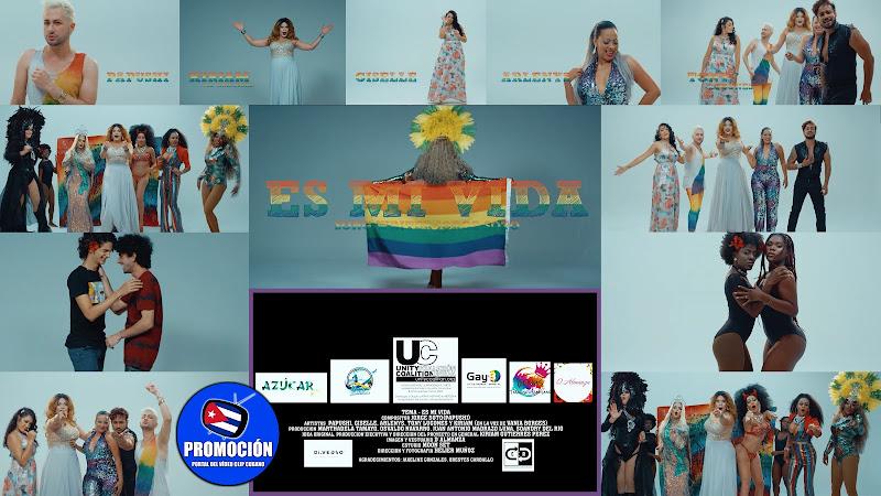 Papushi - Kiriam Gutiérrez - Arlenys Rodríguez - Vannia Borges - Giselle Ferrer - Tony Lugones - ¨Es mi Vida¨ - Videoclip - Dir: Helier Muñoz. Cuba.