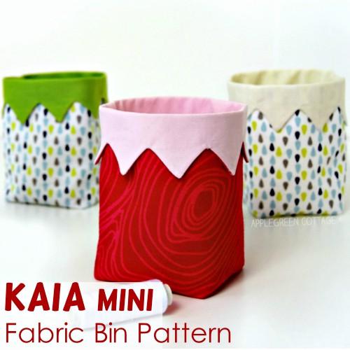 KAIA Mini Bin Pattern