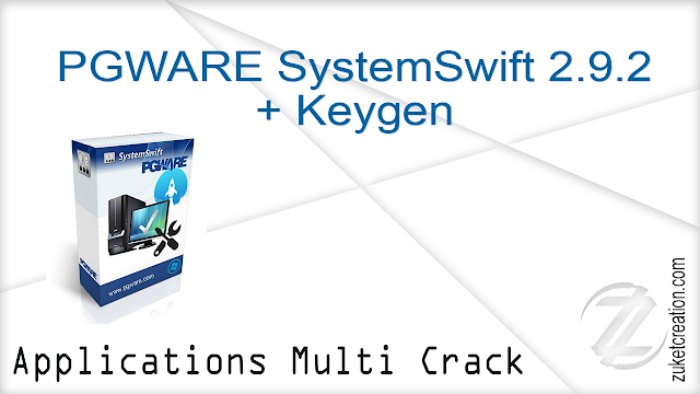 PGWARE SystemSwift 2.9.2 + Keygen