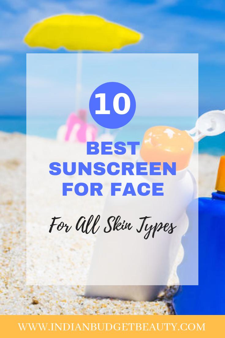 Best Sunscreen All Skin Types