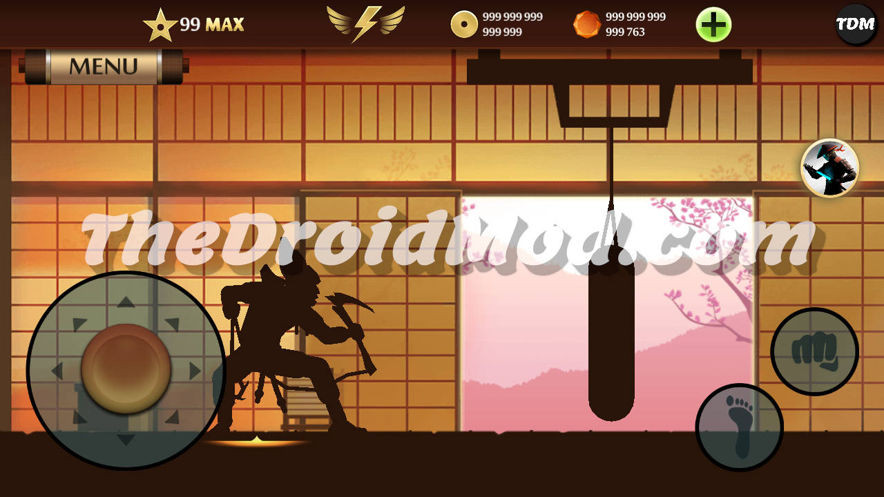 Shadow Fight 2 Max Level 99 Mod Apk Latest For Android Level 99 Unlimited Gems, Coins, Energy, Orbs Tickets, Enchantments, Exp Mega Mod APK For Android For Free Mega Mod 1