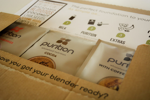 No Time for Breakfast? Try Purition Wholefood Shake!!