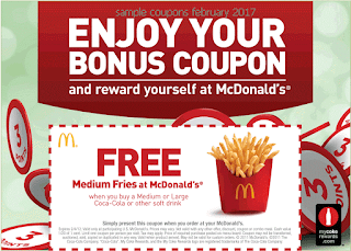 Mcdonalds coupons february