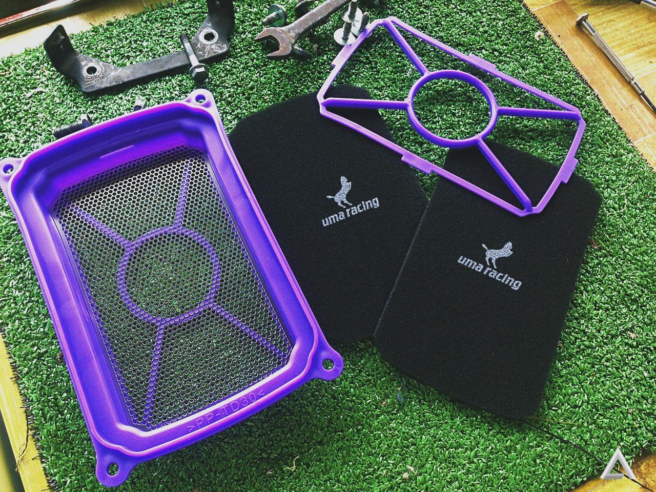 Uma Racing Air Filter Dual Kit - Benda Boleh Cuci, Buat Apa Beli Baru