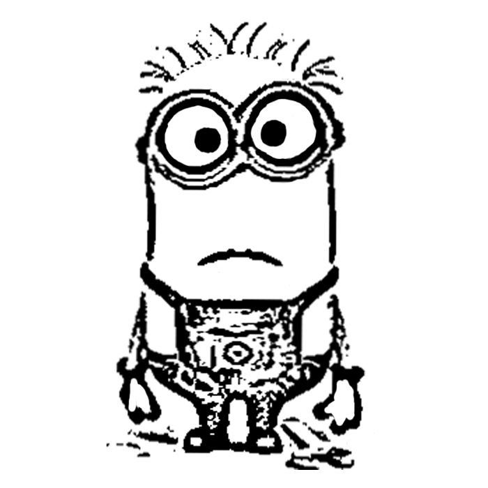 Minions Drawing   Minions Coloring/Drawing Pages   Outline ...