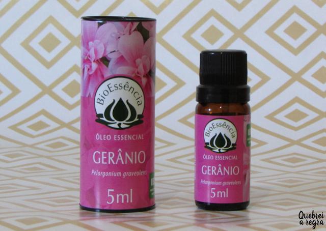 Óleo Essencial de Gerânio: propriedades aromáticas e dicas de uso
