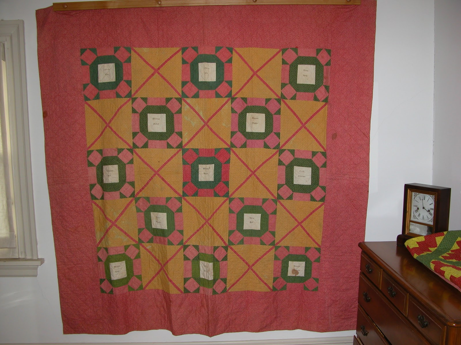 Notes From The Quilt Lab Pennsylvania Fraktur Quilt