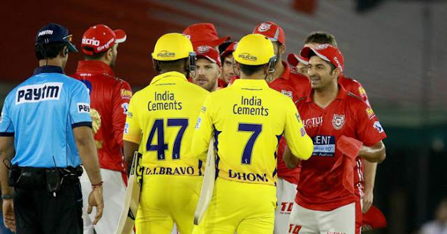 IPL 2018 Match Report KXIP vs CSK
