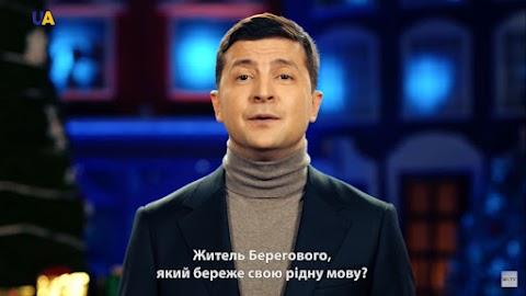 Zelenszkij magyarul is megszólalt újévi köszöntőjében