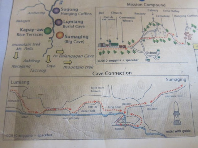 sagada cave connection map