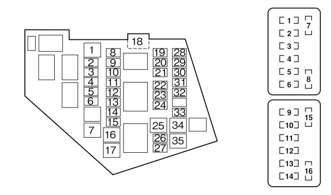 mazda mx5 mk3 fuse box diagram