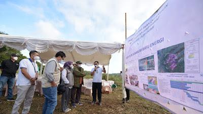Wagub Tinjau, Pembangkit Listrik Tenaga Bayu Senilai Rp 3,3 Triliun di Kab Sukabumi