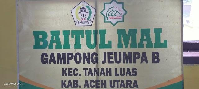 Baitul Mal Gampong Jeumpa Berghang Kembali Bangun Rumah Untuk Masyarakat Kurang Mampu
