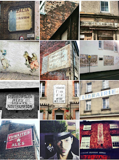 Things I Learnt In April - Ghost Signs Instagram