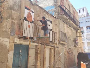 Una imatge de la intervenció. Foto: Blog Barri del Port