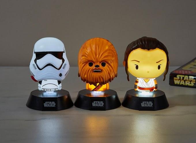 Flipa con estas preciosas lámparas de escritorio de Star Wars