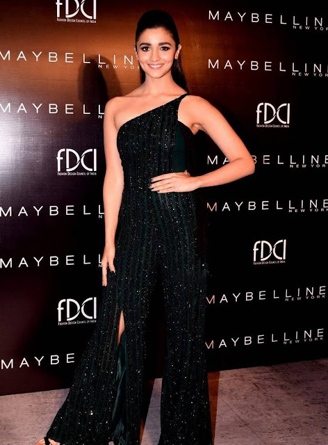 Alia Bhatt Latest Images At Maybelline New York India Event