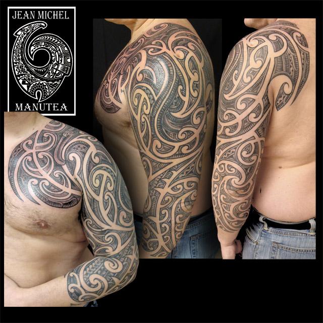 Maori Tattoo Cover Up: Tatouage Polynesien-polynesian Tattoo: Maori Inspired Tattoo