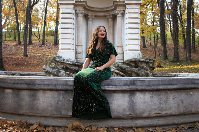adina nanes elegant evening dress