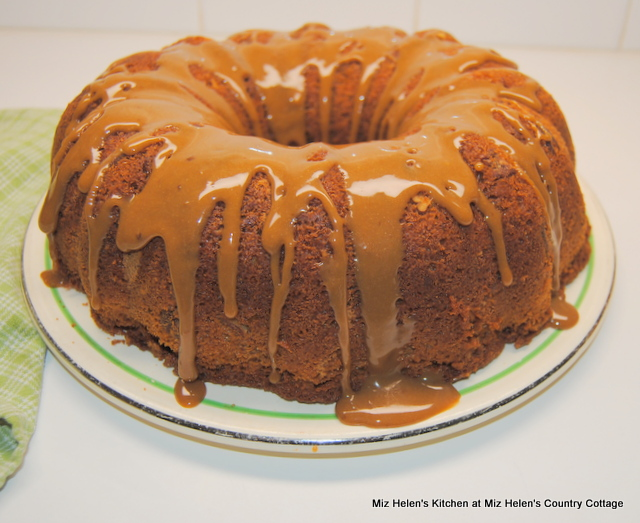 Caramel Pecan Bundt Cake at Miz Helen's Country Cottage