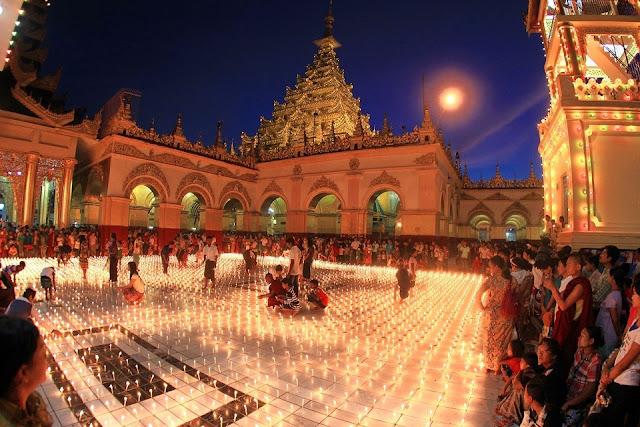 Myanmar – Trung Thu rực rỡ ánh sáng khắp nơi