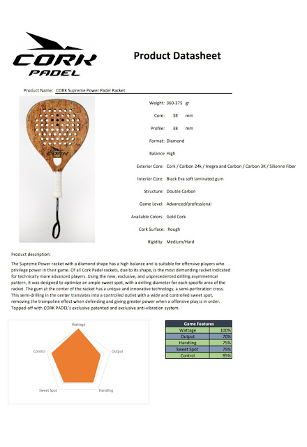Corkpadel Supreme Power