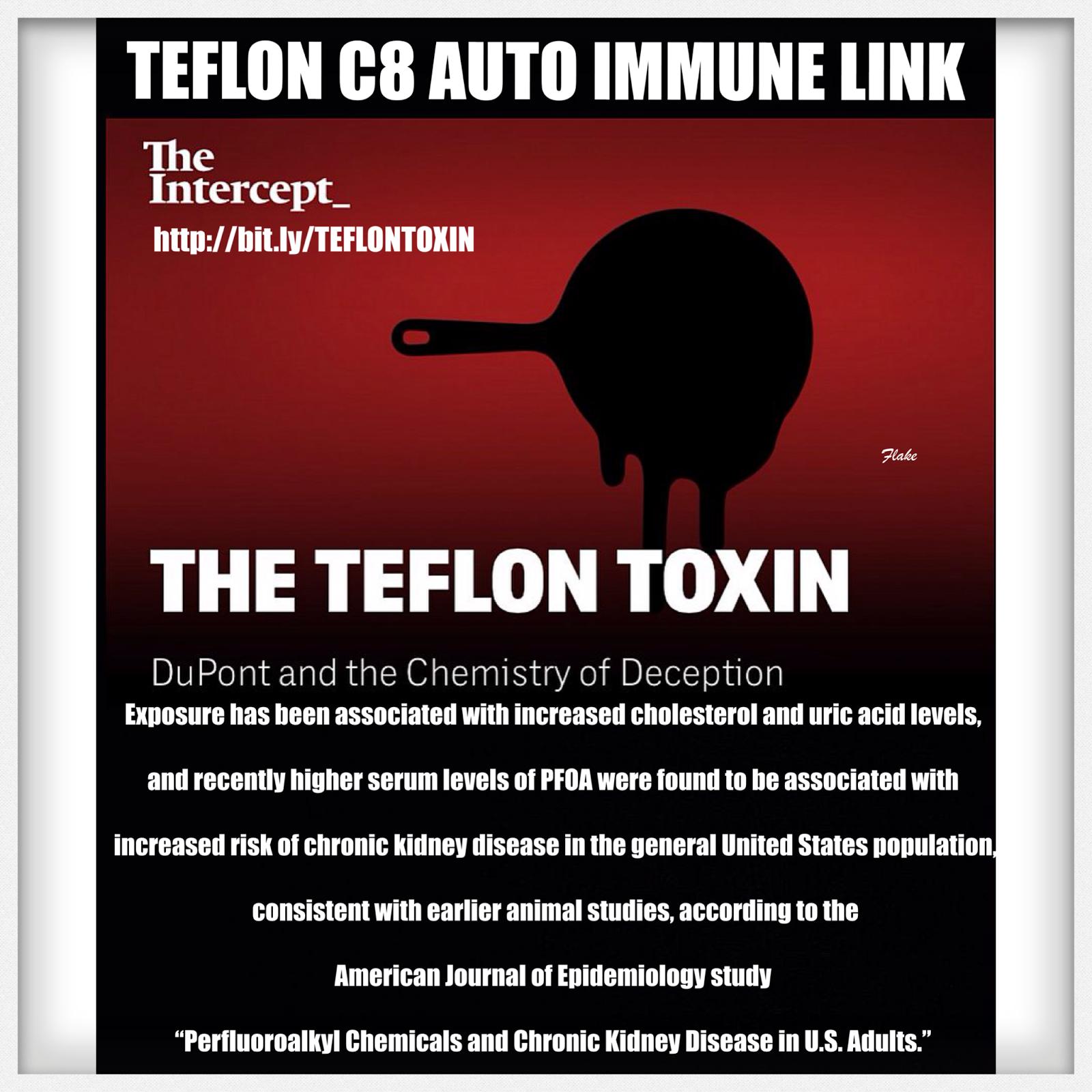 The Teflon Toxin C8 Time To Dump The Teflon