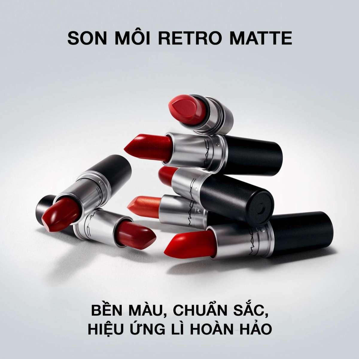 Son môi MAC Retro Matte Lipstick 3g