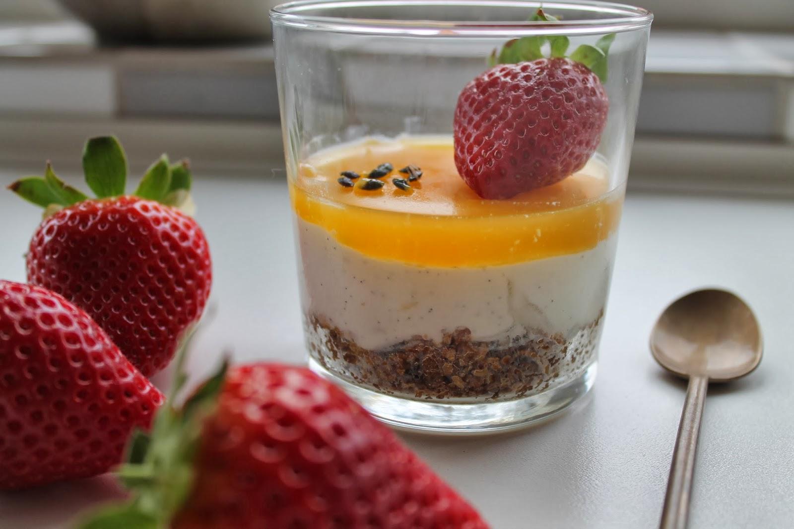 desserter i glas