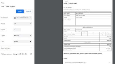 Cara Mencetak Bukti Pembayaran di Bukalapak www.andrisamaran.com