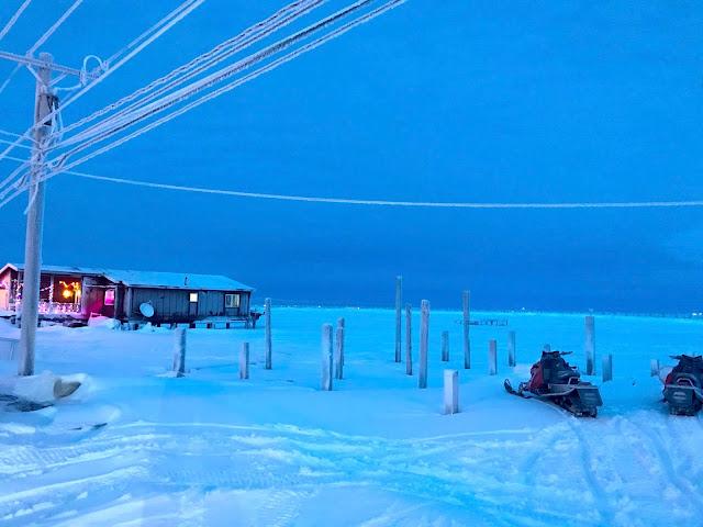 Barrow Alaska Houses on Stilts | Houses on Legs | Arctic House Construction  (c) 2020 Supratim Sanyal
