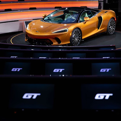 The launch of the new McLaren GT