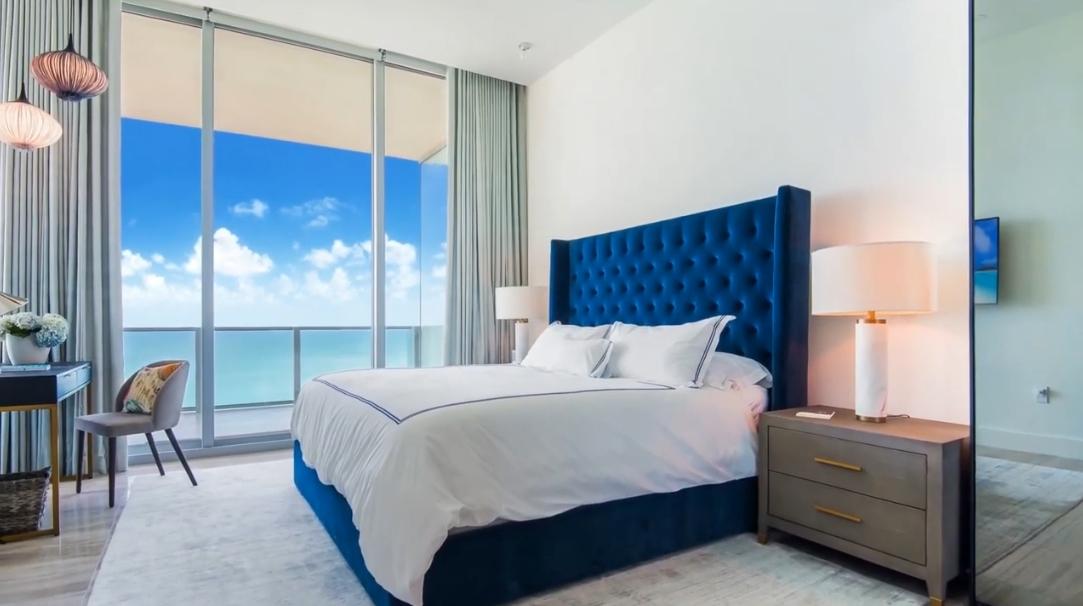 22 Interior Design Photos vs. 6901 Collins Ave #1503, Miami Beach Luxury Condo Tour
